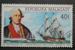 Stamps of the world : Madagascar :  BICENTENARIO DE LA INDEPENDENCIA ESTADOS UNIDOS