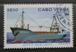 Stamps Africa - Cape Verde -  FLOTA MERCANTE, ILHA DO MAIO