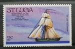 Sellos del Mundo : America : Santa_Lucia : BICENTENARIO REVOLUCION AMERICANA