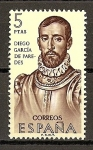 Stamps Spain -  Forjadores.