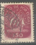 Stamps : Europe : Portugal :  PORTUGAL_SCOTT 621.01 VELERO ANTIGUO 50C. $0.2