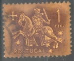 Stamps : Europe : Portugal :  PORTUGAL_SCOTT 766 SELLO ECUESTRE DEL REY DINIZ.$0.2