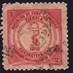 Stamps Cuba -  República de Cuba - 1er. Congreso Panamericano de Farmacia