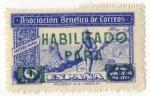 Stamps of the world : Spain :  Asociación Benefica de Correos. Cartero Rural