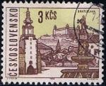 Stamps Czechoslovakia -  Scott  1352  Bratislava