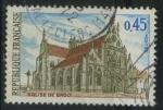 Sellos del Mundo : Europa : Francia : S1232 - Iglesia de Brou
