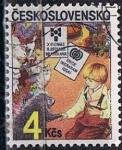Stamps Czechoslovakia -  Scott  2575 Para niños (3)