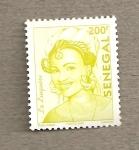 Stamps Senegal -  Elegancia senegalesa: La linquière