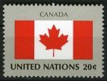 Sellos del Mundo : America : ONU : Bandera - Canada