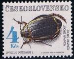 Stamps Czechoslovakia -  Scott  Dystiscus latissimus