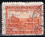 Sellos de Europa - Checoslovaquia -  Scott  Vistas de Jasica