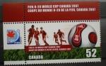 Sellos del Mundo : America : Canadá : MUNDIAL FUTBOL SUB-20, CANADA 2007