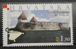 Stamps : Europe : Croatia :  CASTILLO UTVRDA KOSTAJNICA SIGLO XV - XVIII