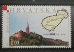 Stamps Europe - Croatia -  CASTILLO ILOK SIGLO XIV - XV