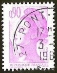 Sellos de Europa - Francia -  LIBERTY DELACROIX - MARIANNE