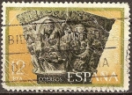 Sellos del Mundo : Europa : España : Navidad 1975(Capitel de Sta.Mª. de Sanqúesa,Navarra).