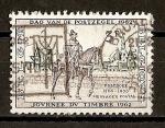 Stamps Belgium -  Dia del Sello.