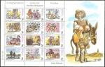 Stamps Spain -  61 B minipliego - Escenas de El Quijote