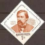 Sellos del Mundo : Europa : Hungría : 150.Aniv.de Ybl Miklos 1814-1891