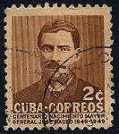 Sellos de America - Cuba -  Centenario nacimiento del Mayor General José Maceo