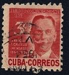 Sellos de America - Cuba -  Retiro de Comunicaciones - Enrique López Calleja Hensell