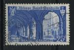 Sellos de Europa - Francia -  S623 - Claustro abadía San Wandrille
