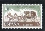 Stamps Spain -  2233- 125 ANIVº DEL SELLO ESPAÑOL- DILIGENCIA DE CORREO