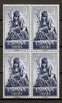 Sellos de Europa - España -  Musicos Indigenas.