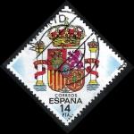 Stamps Spain -  2685 Escudo de España.