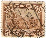 Stamps America - Colombia -  sellos cafe de colombia