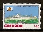 Stamps Grenada -  Navios / Geestland.