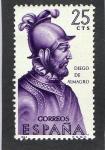 Sellos de Europa - Espa�a -  1622- DIEGO DE ALMAGRO