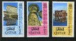 Stamps Asia - Qatar -  Salvar los monumentos de Nubia