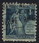 Stamps Cuba -  República de Cuba - Consejo Nacional de Tuberculosis - Pro hospitales Infantiles