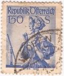 Stamps Oceania - Australia -  Republik  Ofterreich