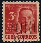 Sellos de America - Cuba -  Enrique López Calleja Hensell - Retiro de Comunicaciones