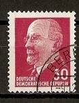 Sellos de Europa - Alemania -  DDR / P. Walter Ulbritch.