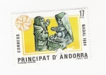 Sellos del Mundo : Europa : Andorra : Pesebre popular (repetido)