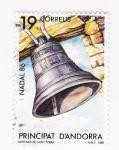 Sellos del Mundo : Europa : Andorra : Campana de Sant Roma (repetido)