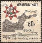 Sellos del Mundo : Europa : Checoslovaquia : Detalle decorativo.Rifle con bloqueo de ruedas,Praha cerca de 1720