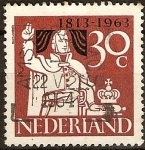 Sellos del Mundo : Europa : Holanda : Independencia 1813-1963
