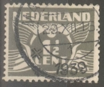 Stamps : Europe : Netherlands :  HOLANDA_SCOTT 167 GAVIOTA. $0.2