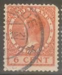 Stamps Netherlands -  HOLANDA_SCOTT 173 REINA GUILLERMINA. $0.2