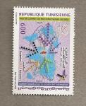Stamps Tunisia -  Cumbre mundial sobre la sociedad de la Información