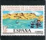 Stamps Spain -  2479- V CENTENARIO DE LA FUNDACION DE LAS PALMAS DE GRAN CANARIAS.