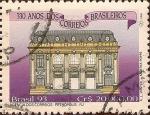 Sellos de America - Brasil -  330 Años de los Correos Brasileros. Agencia de los Correos - RJ.