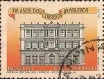 Sellos de America - Brasil -  330 A�os de los Correos Brasileros. Agencia Central de Correos - RJ.