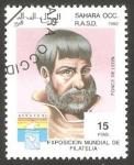 Stamps : Africa : Morocco :  Sahara - Ponce de León