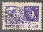 Stamps Russia -  RUSIA_SCOTT 3258.01 ATERRIZAJE SUAVE EN LA LUNA. $0.2