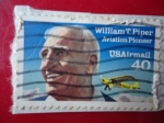 Stamps United States -  WILLIAM T. PIPER (Aviation Pioneer)